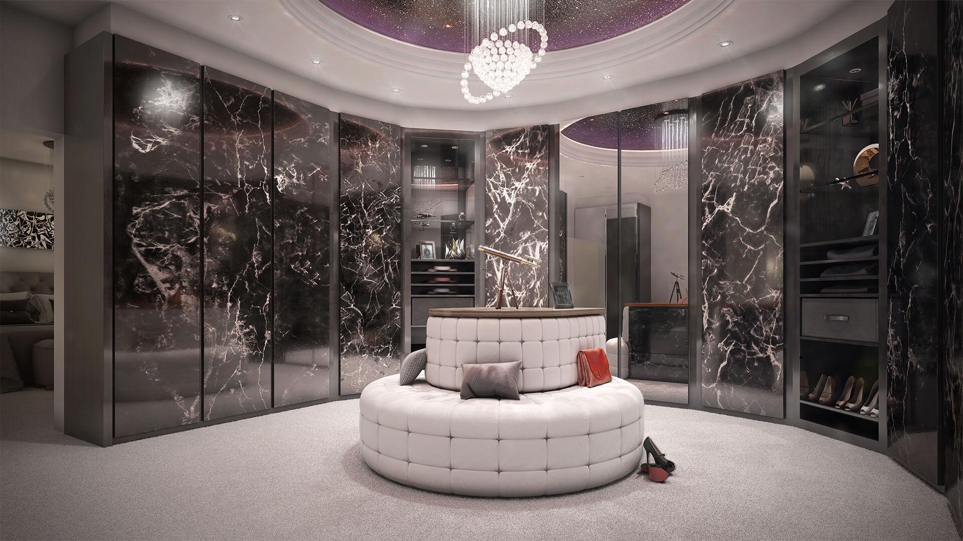 Bespoke Bedroom and Dressing area Design