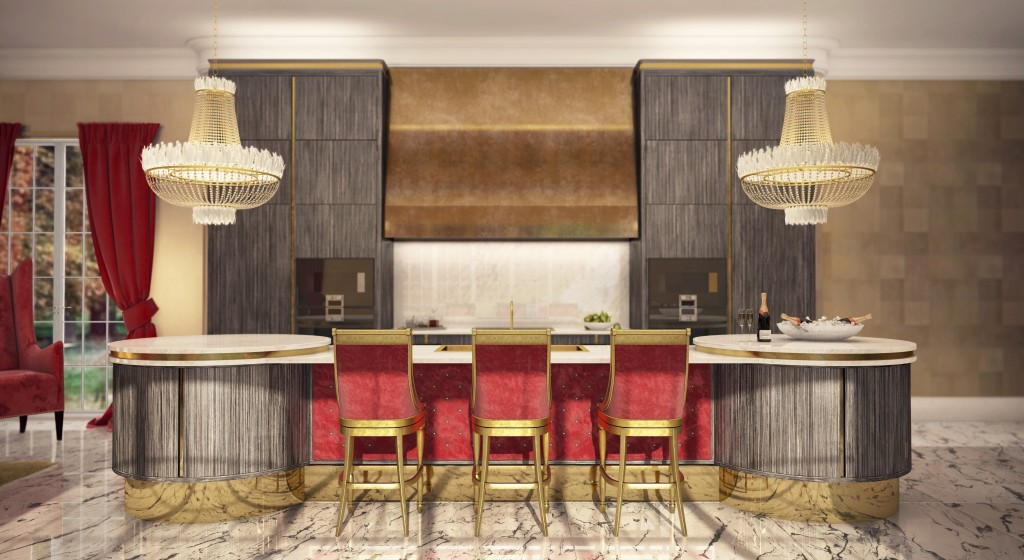 Luxury modern kitchen inspired by windsor castle extreme for Extreme kitchen designs