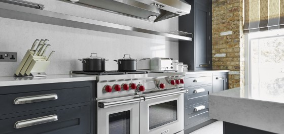 Custom Made Luxury Kitchen Design With Wolf Appliances