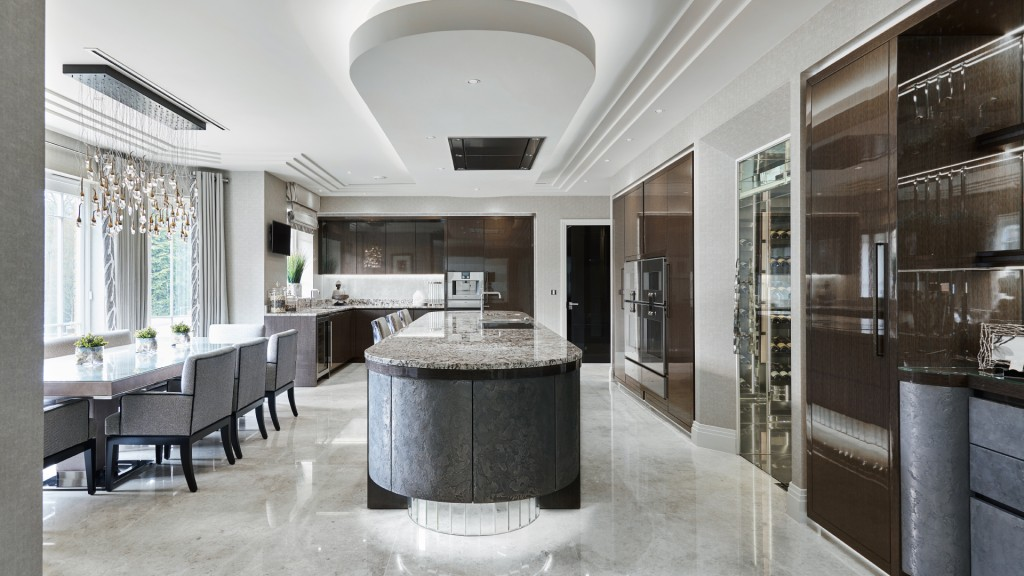 Luxury Kitchen Designs Uk Luxury New Kitchen Stgeorge's Hill Surrey  Extreme Design