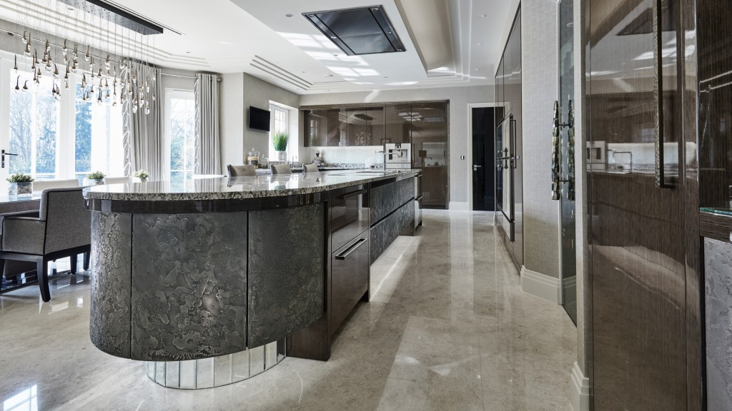 Luxury new kitchen st george 39 s hill surrey extreme design Kitchen design companies in surrey
