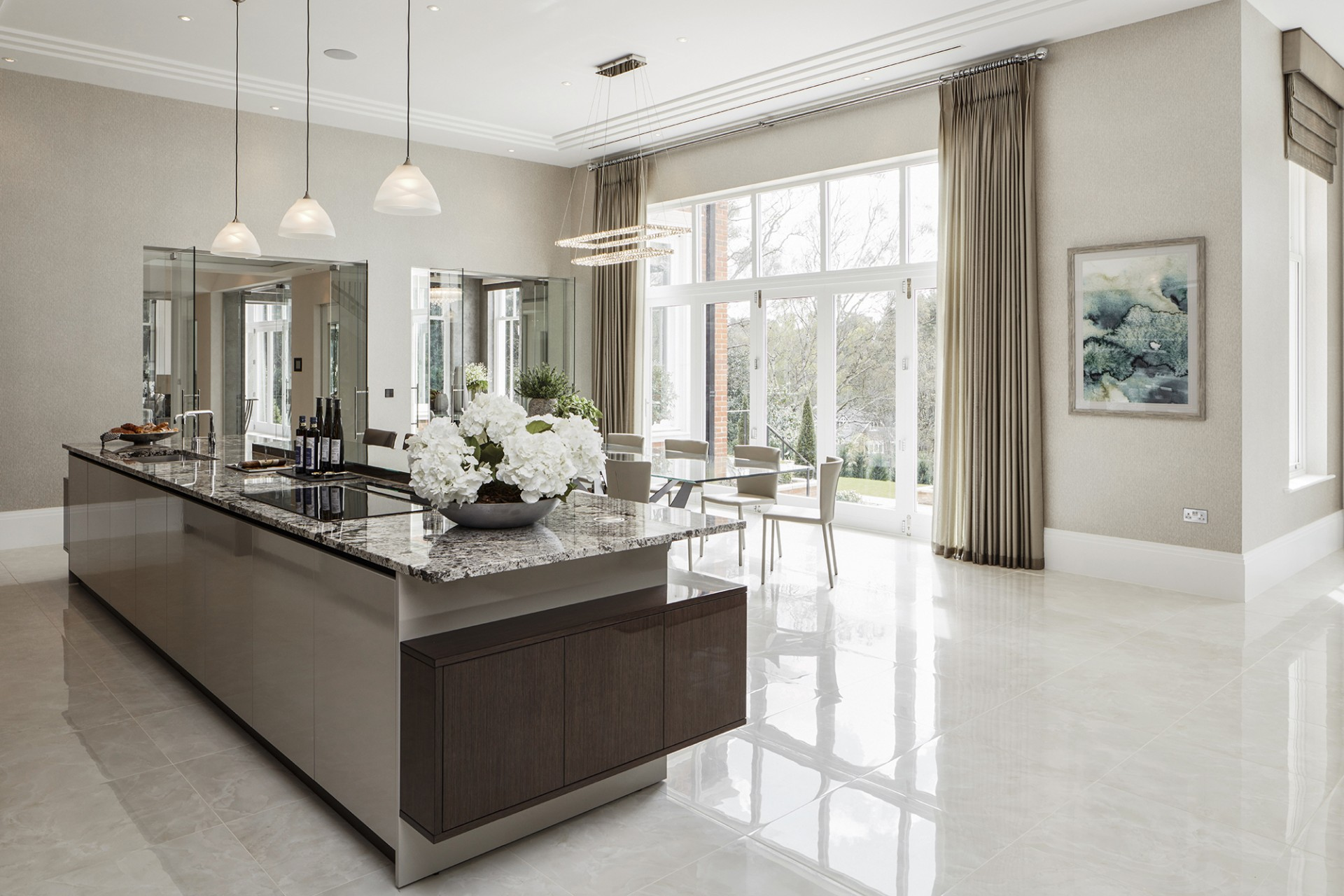 A luxury contemporary kitchen design extreme design for Extreme kitchen designs