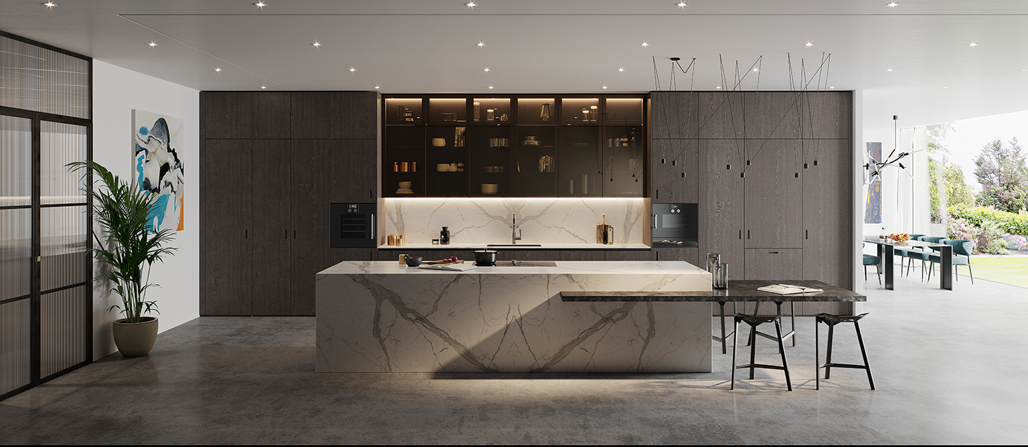 Extreme Design Modern Kitchen