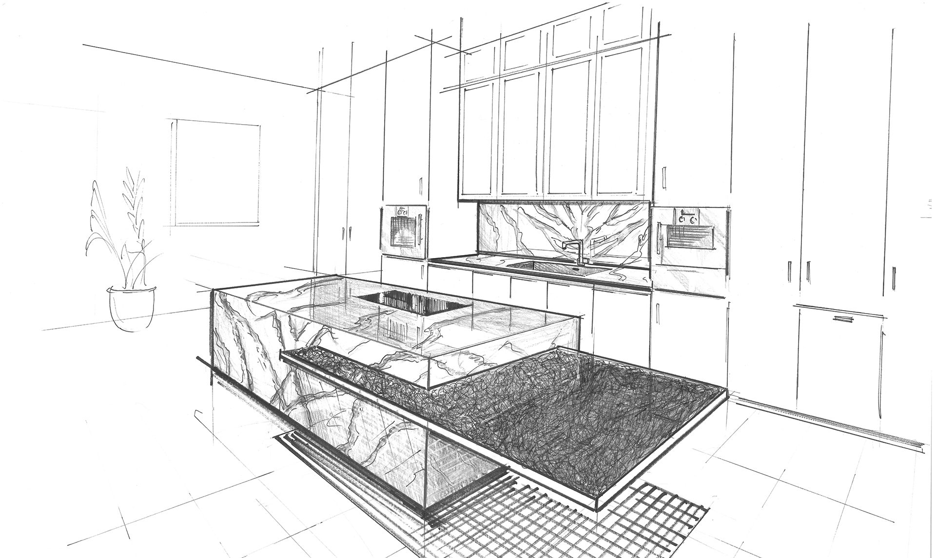 sketch kitchen design the kitchen as design inspiration 2288