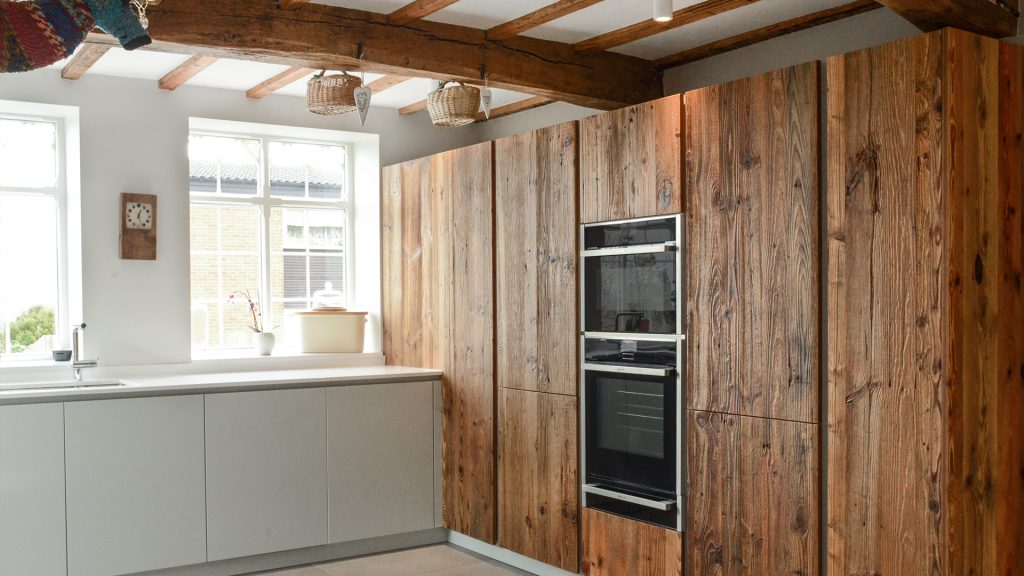 Eco Kitchen Design - Reclaimed Wood