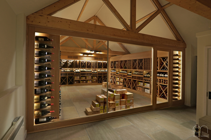 Wine storage design