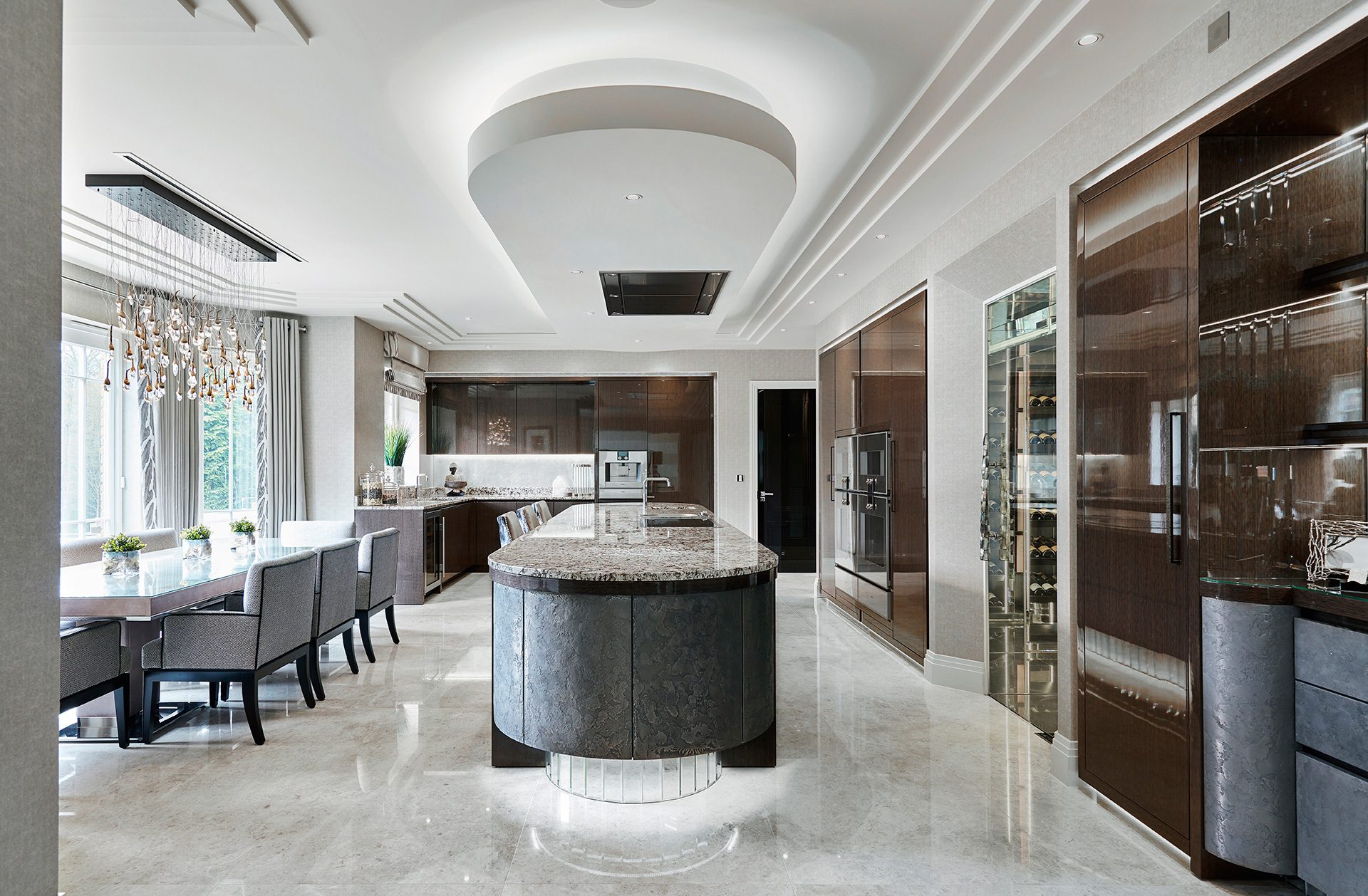 Extreme Luxury Kitchen Design Metal