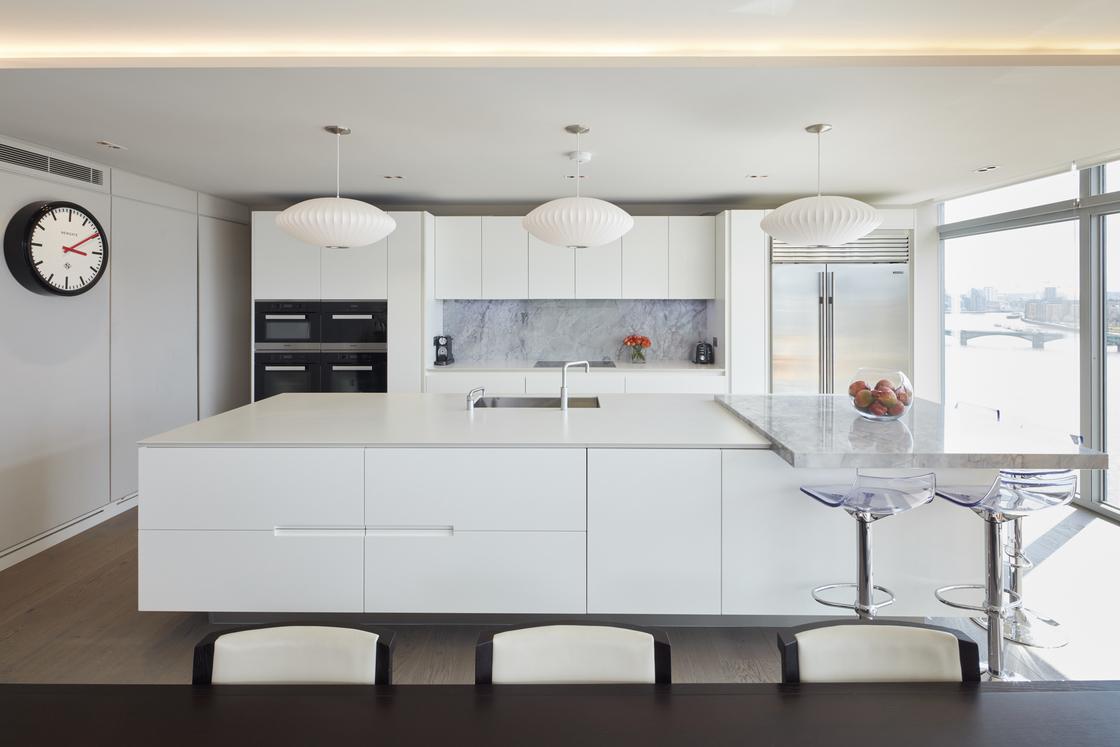 Ultra modern kitchen worktops