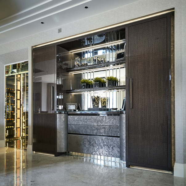 Luxury modern cocktail bar