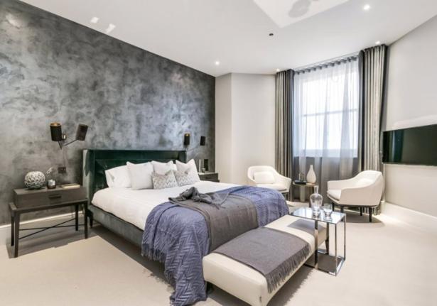 Luxury designer bedroom