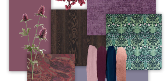 Midnight Woodland mood board
