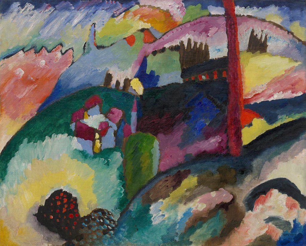 Cubism Art Form - Colour blocking art movement