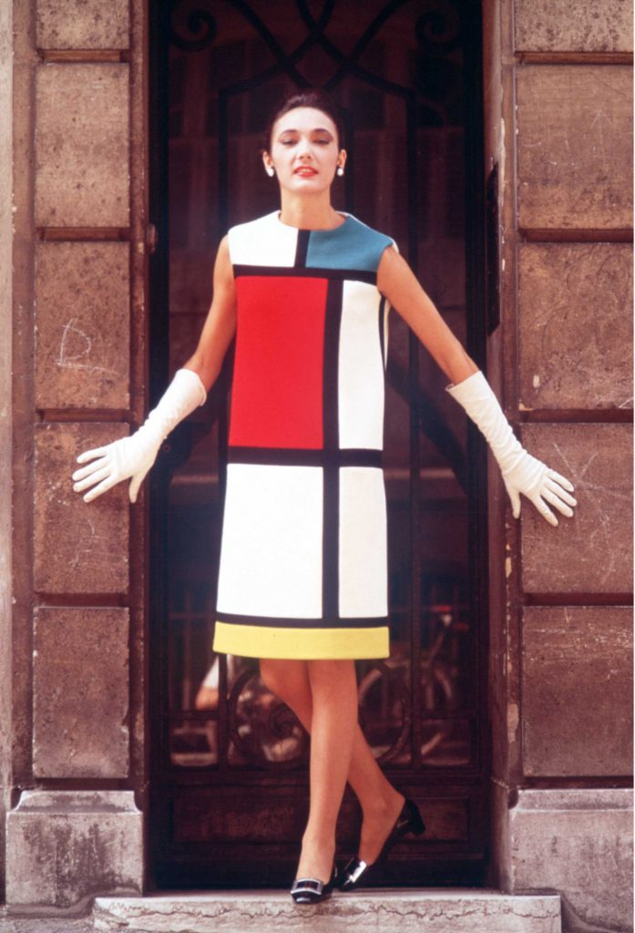 Colour blocking fashion & design history