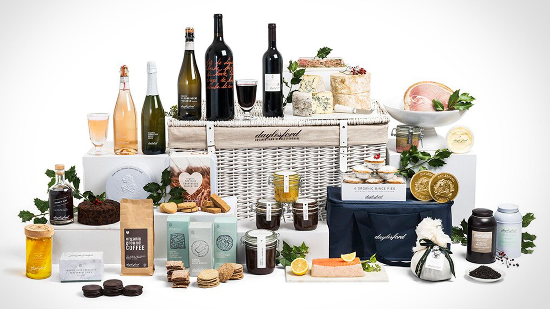 Daylesford Kingham Organic Food Hamper Christmas Gift