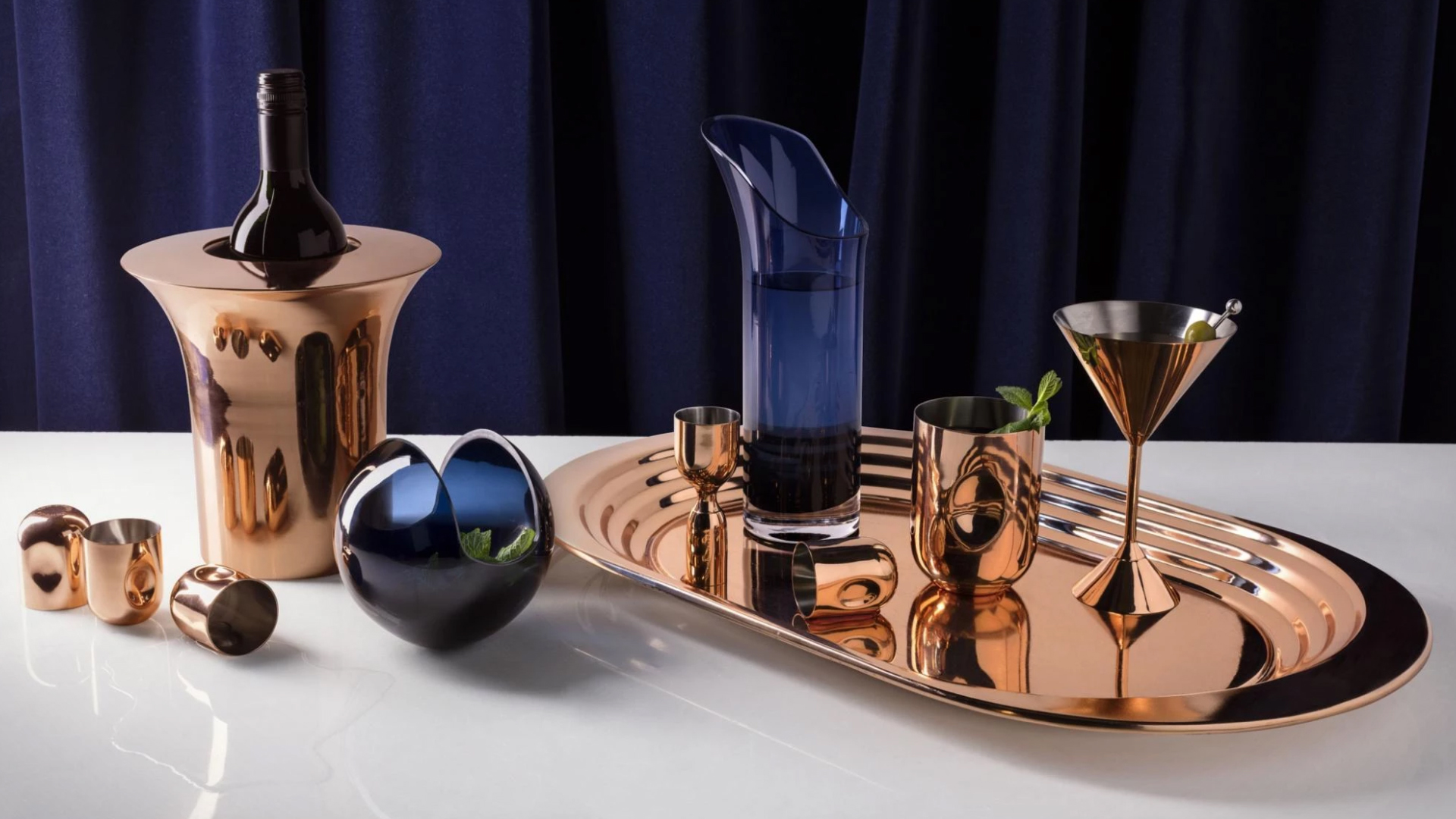 Cocktail Gift Tom Dixon Plum Collection