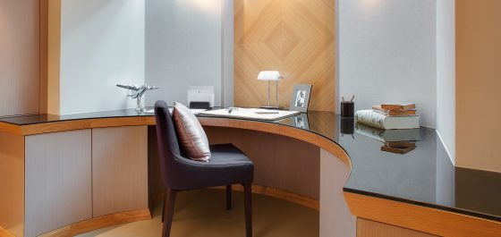 bespoke oak home office