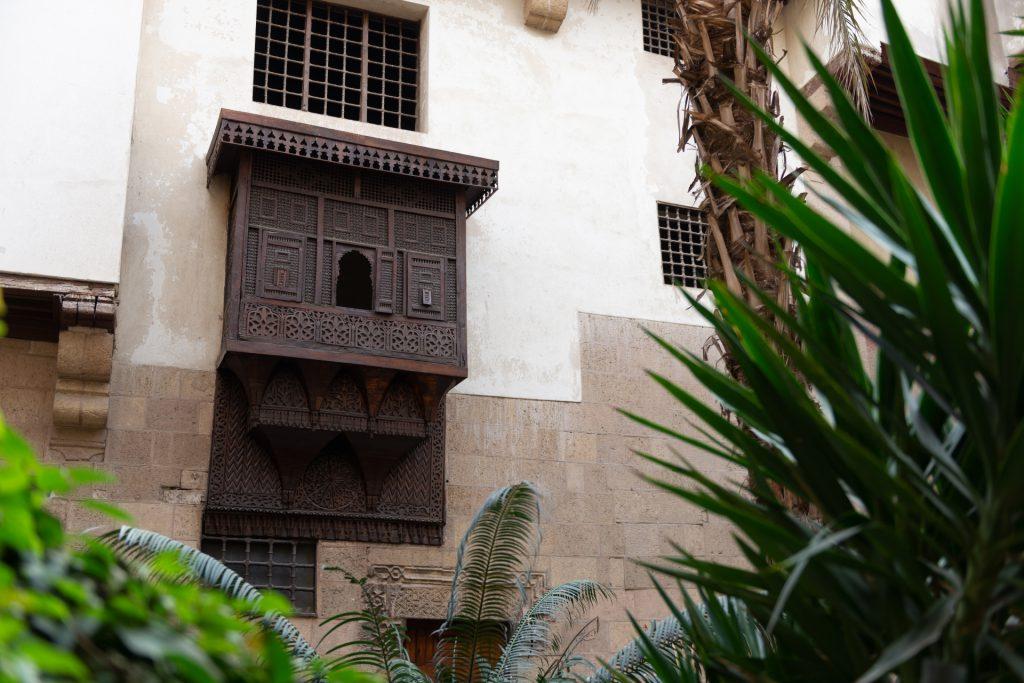 Mashrabiya window Morrocan architecture