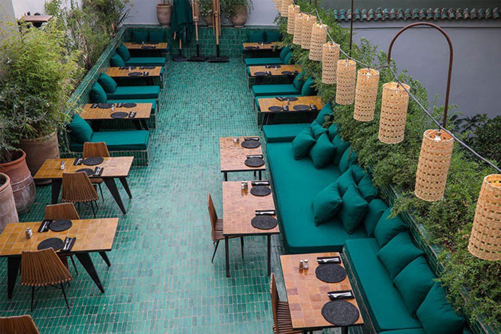 Le Jardin - Marrakech bohemian roof top restaurant