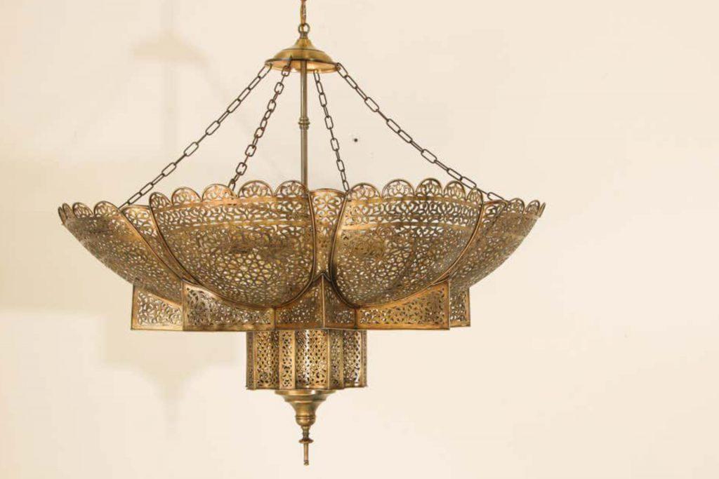 Morrocan moorish bohemian lamp