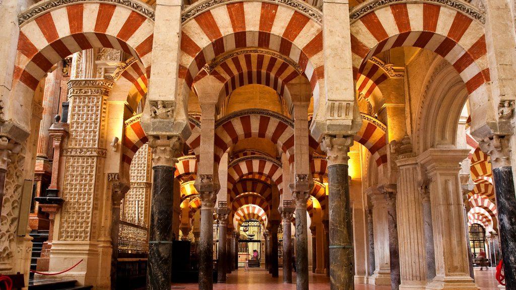 The Mosque of Cordoba Morrocan bohemian architecture