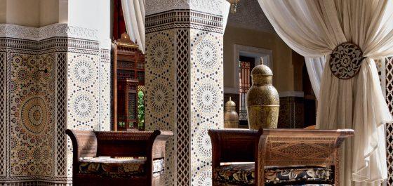Royal Mansour Marrakech lobby