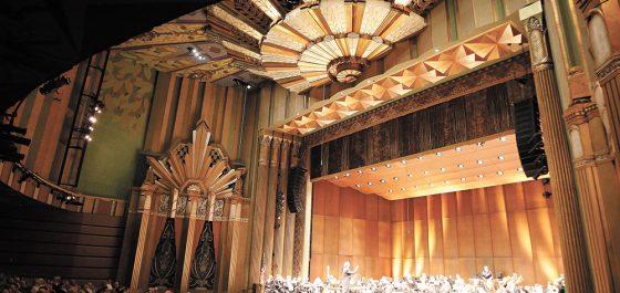 Art Deco Design Fox Theatre Spokane