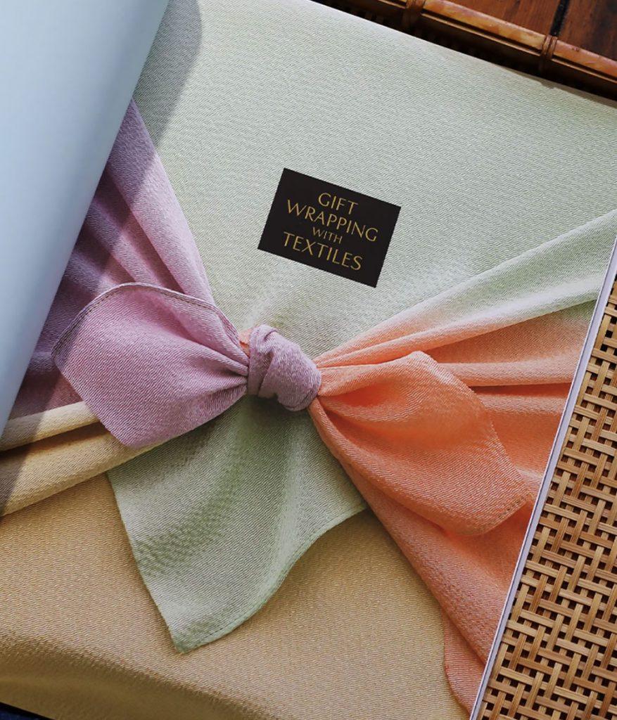 Furoshiki Wrapping with Textiles Book by Chizuko Morita