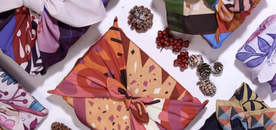 furoshiki fabric gift wrap wrappr