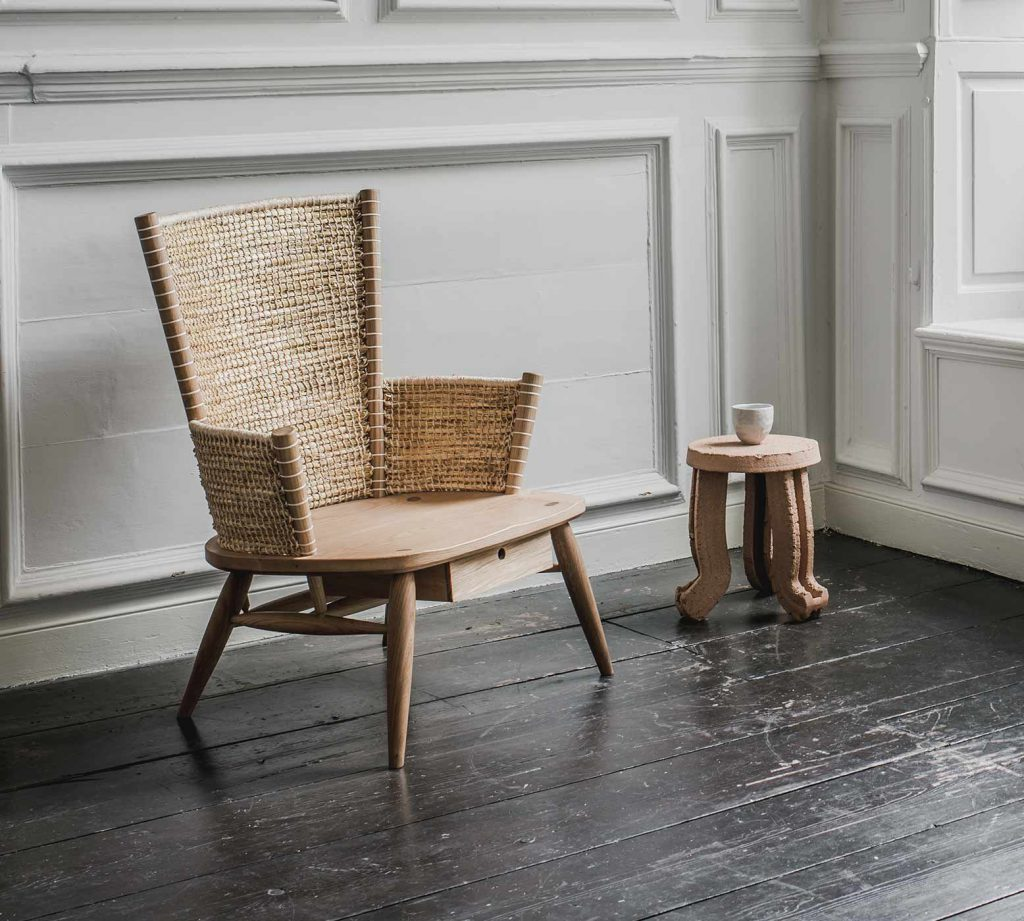 Arts and crafts lounge chair brodgar by the new craftsmen