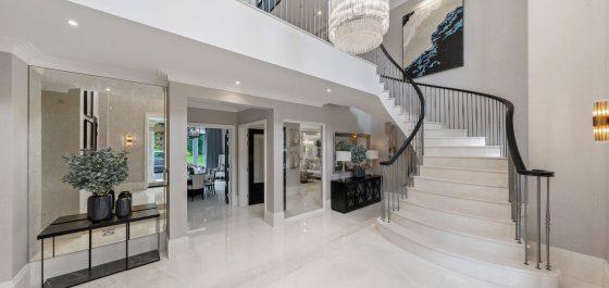 luxury home entrance hall