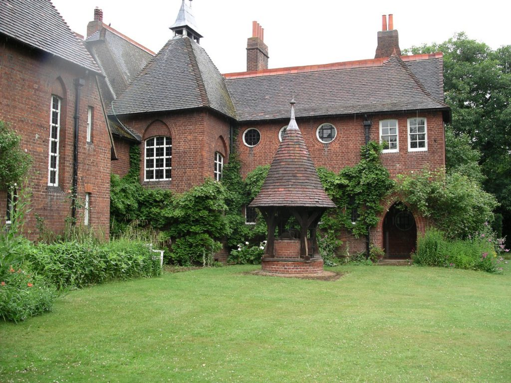 Arts and Crafts Red House designed by William Morris
