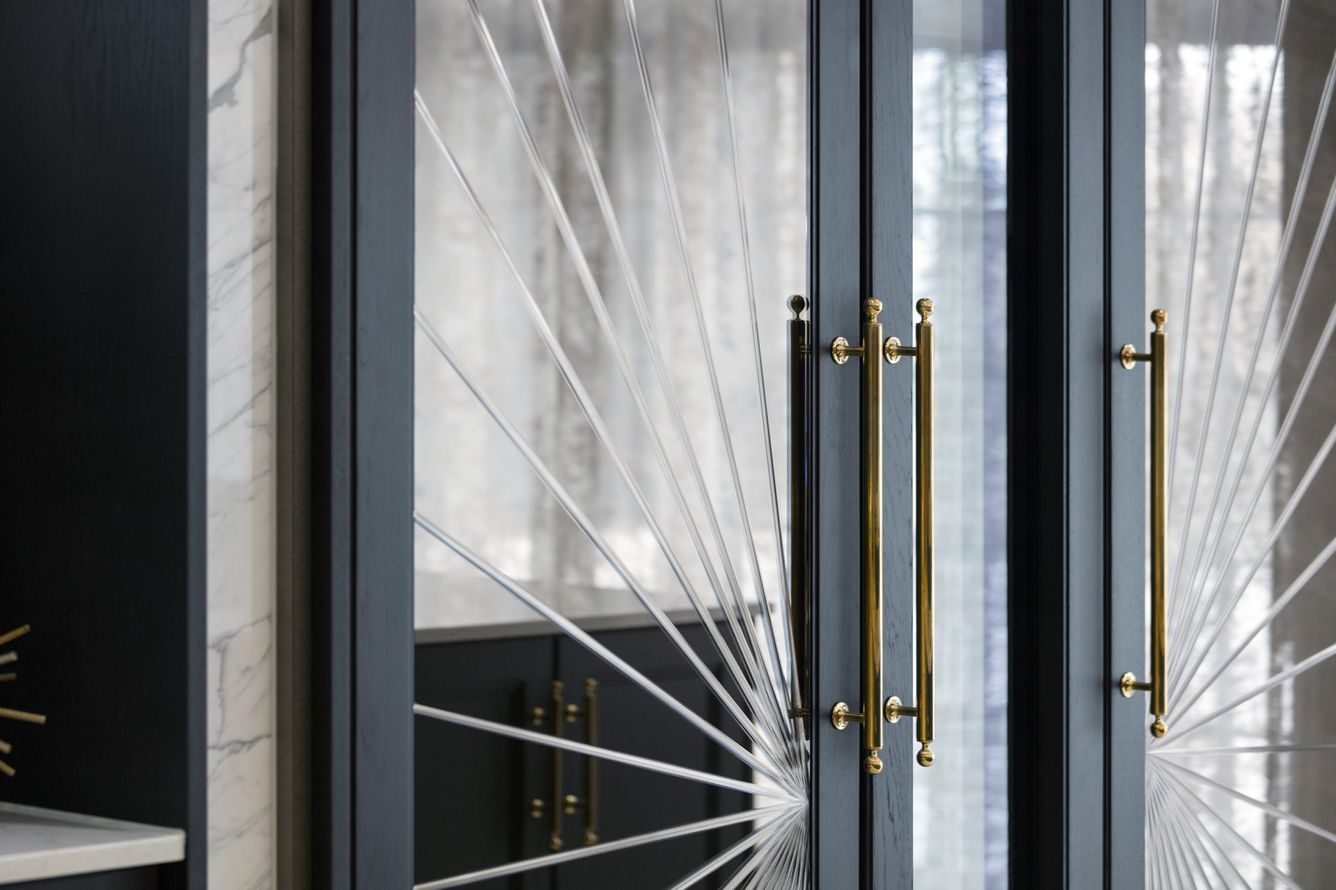 art deco luxury kitchen doors