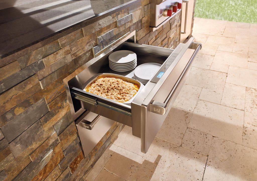 Wolf Outdoor Kitchen Warming Drawer