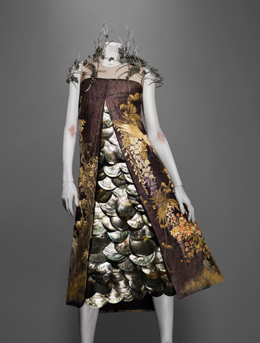 Alexander McQueen fashion collection inspired by nature