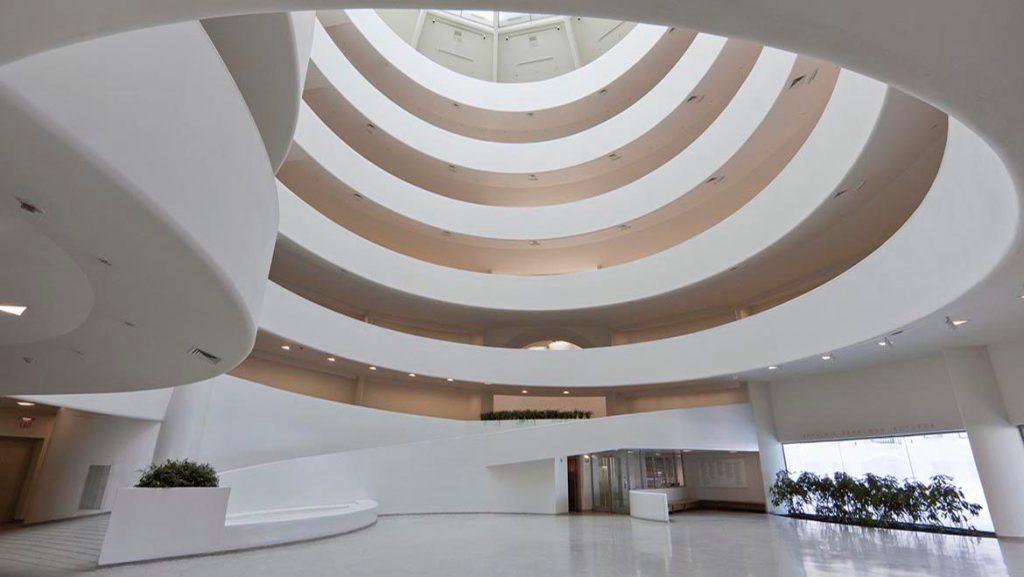 Guggenheim Museum interior